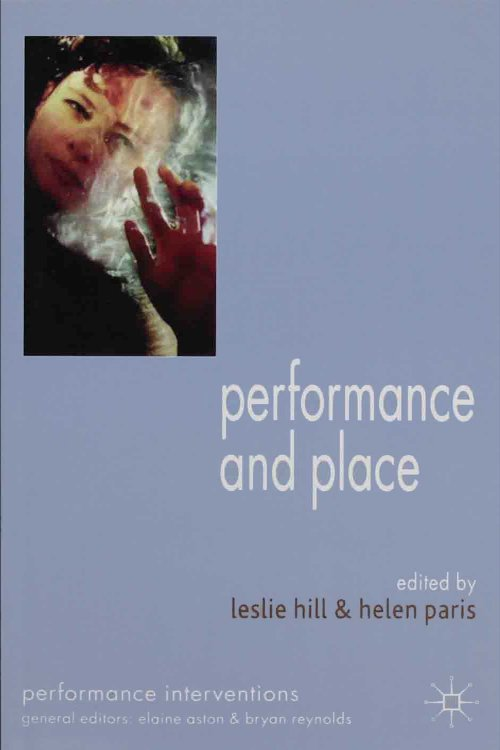 Performance & Place book cover
