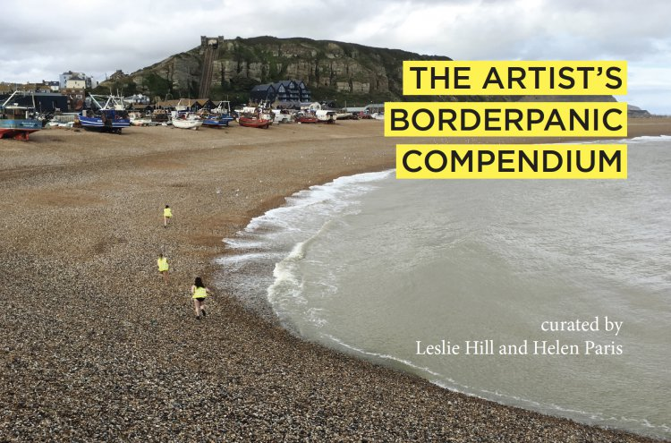 Artists Borderpanic Compendium book cover