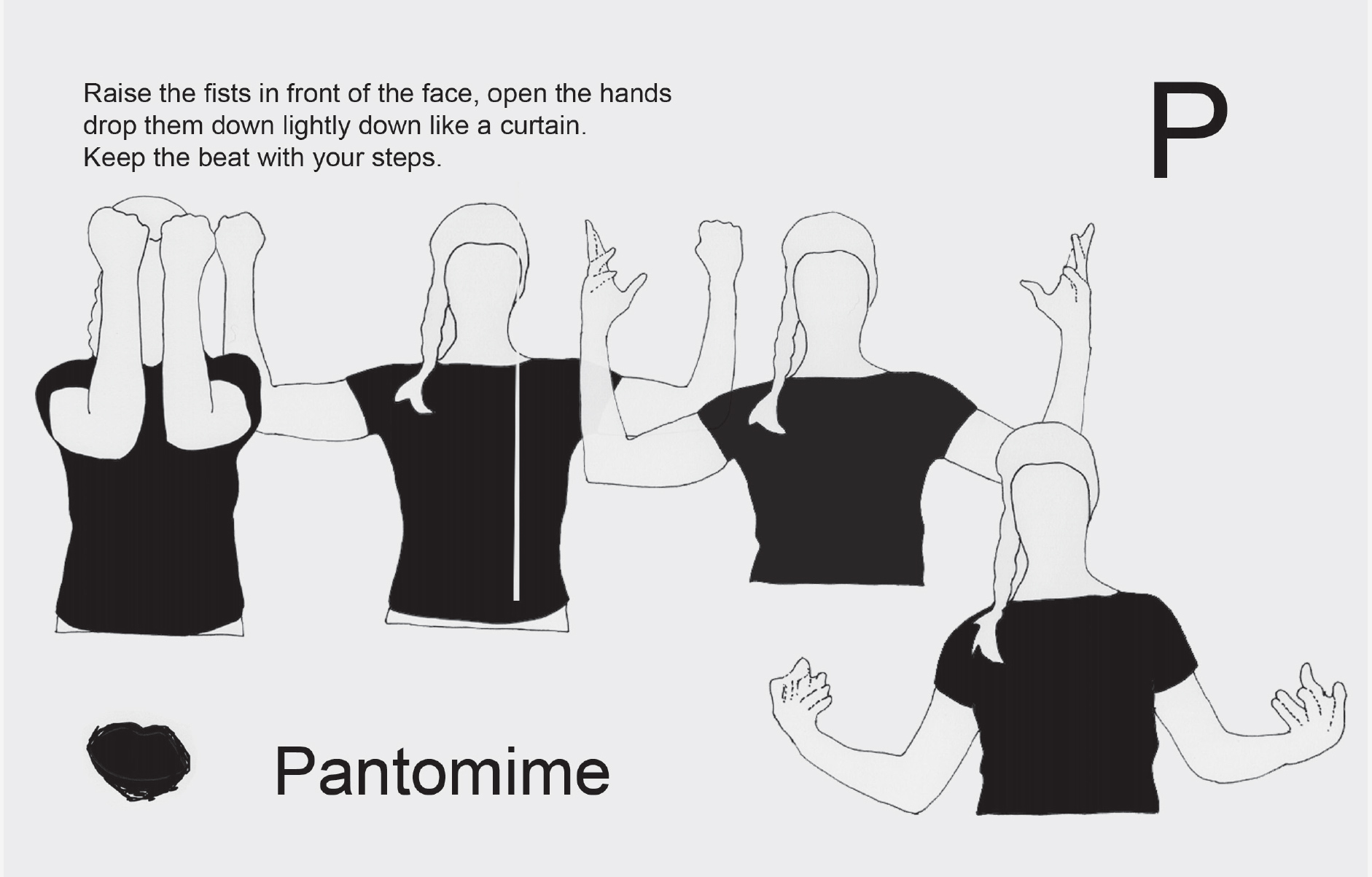 Pantomime instructions